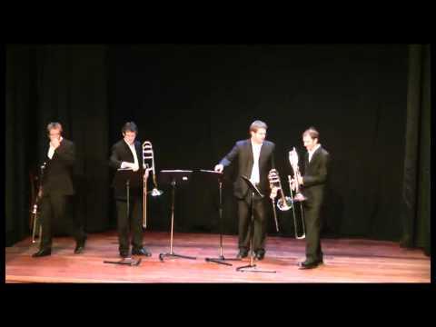 BonaNZa Trombone Quartet - Sarah Lilli Family Concert 2010