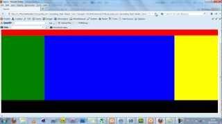 Web Page Layout Using Css