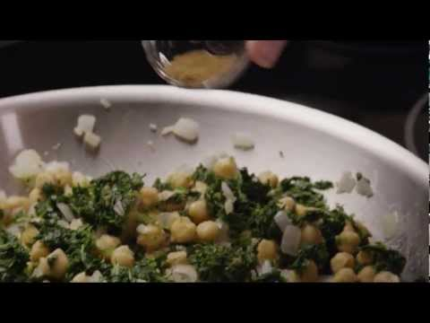 How to Make Spinach with Garbanzo Beans | Healthy Recipe | AllRecipes