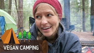 What I Eat Iฑ A Day—Vegan Camping Edition!