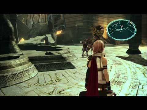 Final Fantasy XIII cap 7: Buscando un camino de huida.