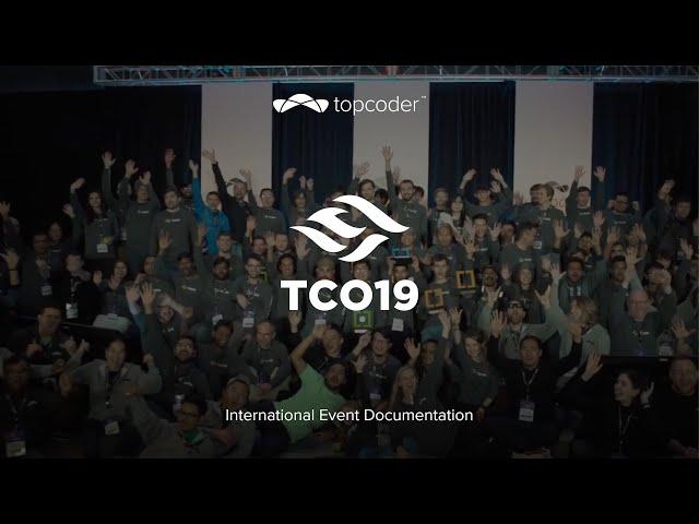 Topcoder - TCO19 Full Event Recap | Corporate Clip