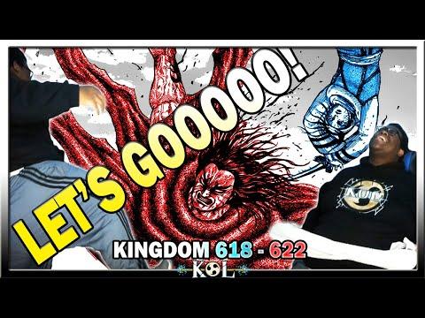 ONE OF THE BEST WOMEN IN MANGA! YOOOOOOOOO! | Kingdom Manga Chapter 618 & 622 LIVE REACTION - キングダム