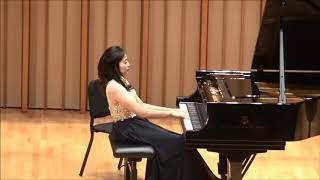 2017서울대학교 음악대학 남가주 동문 정기 연주회  Piano Solo * Soyeon An  촬영:김정식