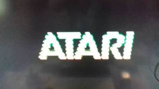 Atari 1200 xl ,space invaders,mexico.