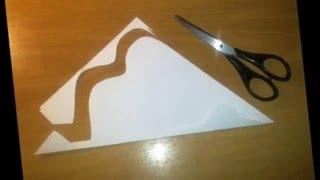 Как сделать журавлика из бумаги Поделки из бумаги