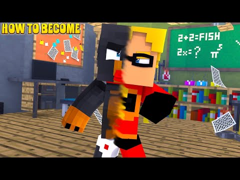 Minecraft - THE INCREDIBLES 2 BECOMING A SUPERHERO