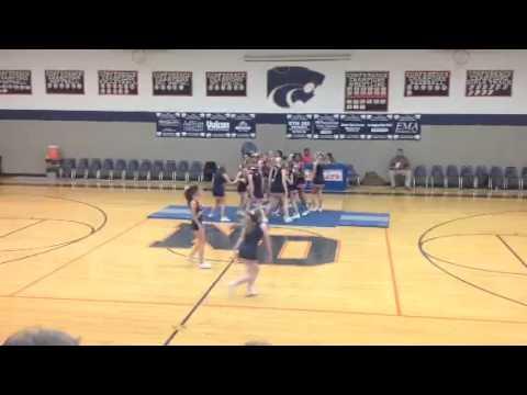 North Davie Middle School Cheer