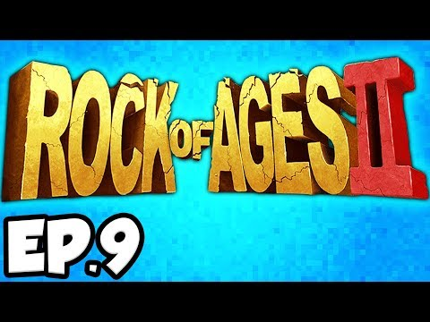Rock of Ages 2 Ep.9 - POMPEII VOLCANO, FIRE BOULDER, URIAN DEMON, BABA YAGA! (Gameplay / Let's Play)