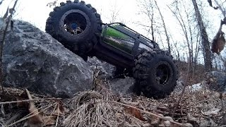 How to make your Traxxas Summit a better Crawler, for low cost, no wieghts