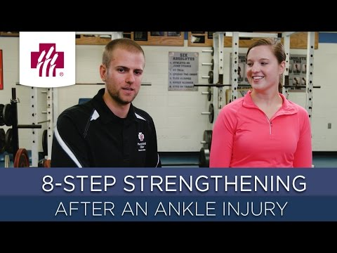 8-Step Strengthening After an Ankle Injury