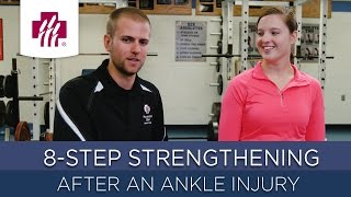 8-Step Strengthening After an Ankle Injury Video