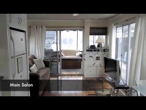 SleepAfloat Houseboat - Cuckoo's Nest II, Boston MA