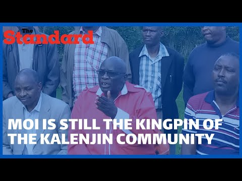 North Rift elders say Senator Gideon Moi remains the de facto leader of the Kalenjin community