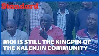 North Rift elders say Senator Gideon Moi remains the de facto leader of the Kalenjin community