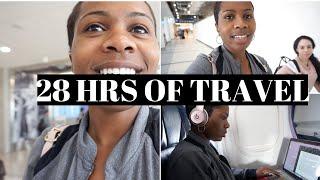 28 HRS Of TRAVEL| Halfway Around The World!