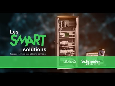 Optimisez vos tableaux tertiaires grâce aux Smart Solutions - Schneider Electric