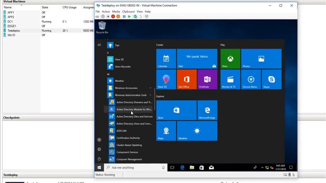 windows 10 unattended deployment