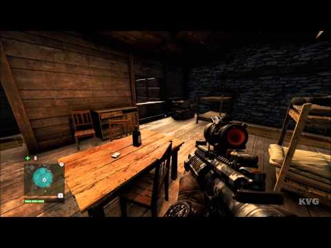 Far Cry 4 - Mask Of Yalung Location - #21 – KEO Logistics | X:399 Y:781 (PC HD) [1080p]