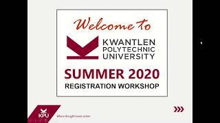 Registration Video Summer 2020