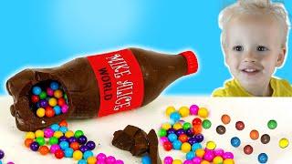 Chocolate & Soda challenge for mom. Mike Alice World