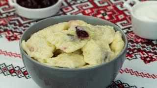 На скорую руку! Ленивые вареники с творогом и вишней - идеальный завтрак! | Appetitno.TV