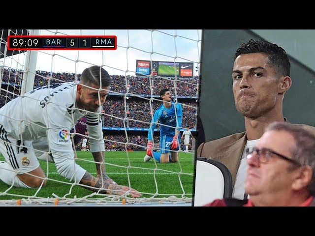 Real Madrid without Ronaldo and with him - Differences  HD