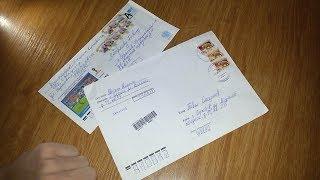Распаковка 2-х Заказных писем с обменов {|} #22