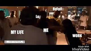 Best WhatsApp status..Vijay Sethupathi bar fight!!! Troll life version meme!!!
