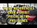 Motorcycles, (Skygo) Cash And Credit Prices In The Philippines