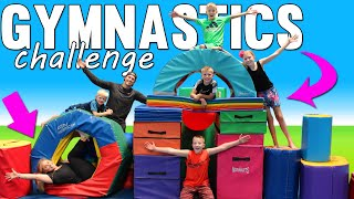 Family Gymnastics Challenge with Shawn Johnson