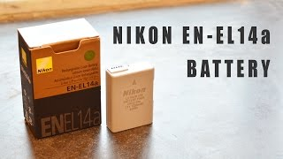 Nikon Battery EN-EL14a review & unboxing