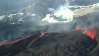 Vulkanausbruch in Island: Aschewolke zieht nach Deutschland (ESA-Animation)