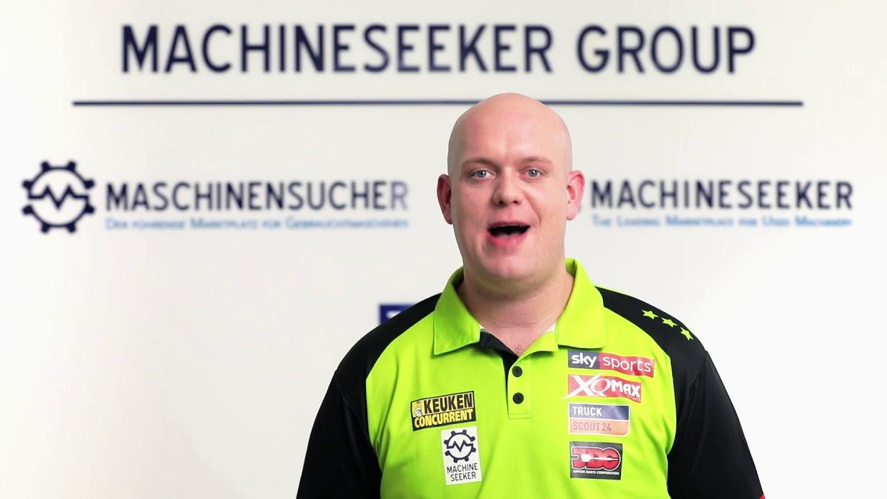 Maschinensucher.de TV-Spot - Darts WM 2020 Michael van Gerwen - YouTube