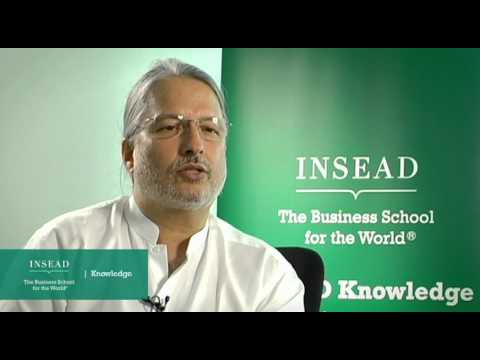 INSEAD Professor Amitava Chattopadhyay on multinational companies from emerging economies
