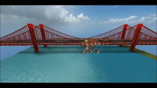 roblox destroying a bridge