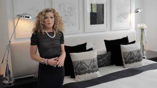 Kelly Hoppen : Sexy Lace Bed Decoration