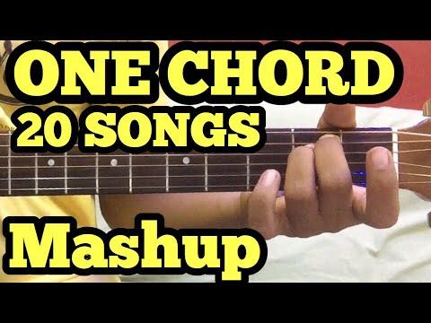 1 Chord 20 Guitar songs MASHUP Lesson  BollywoodHindi Songs Mashup  One chord  Sidharth Salathia