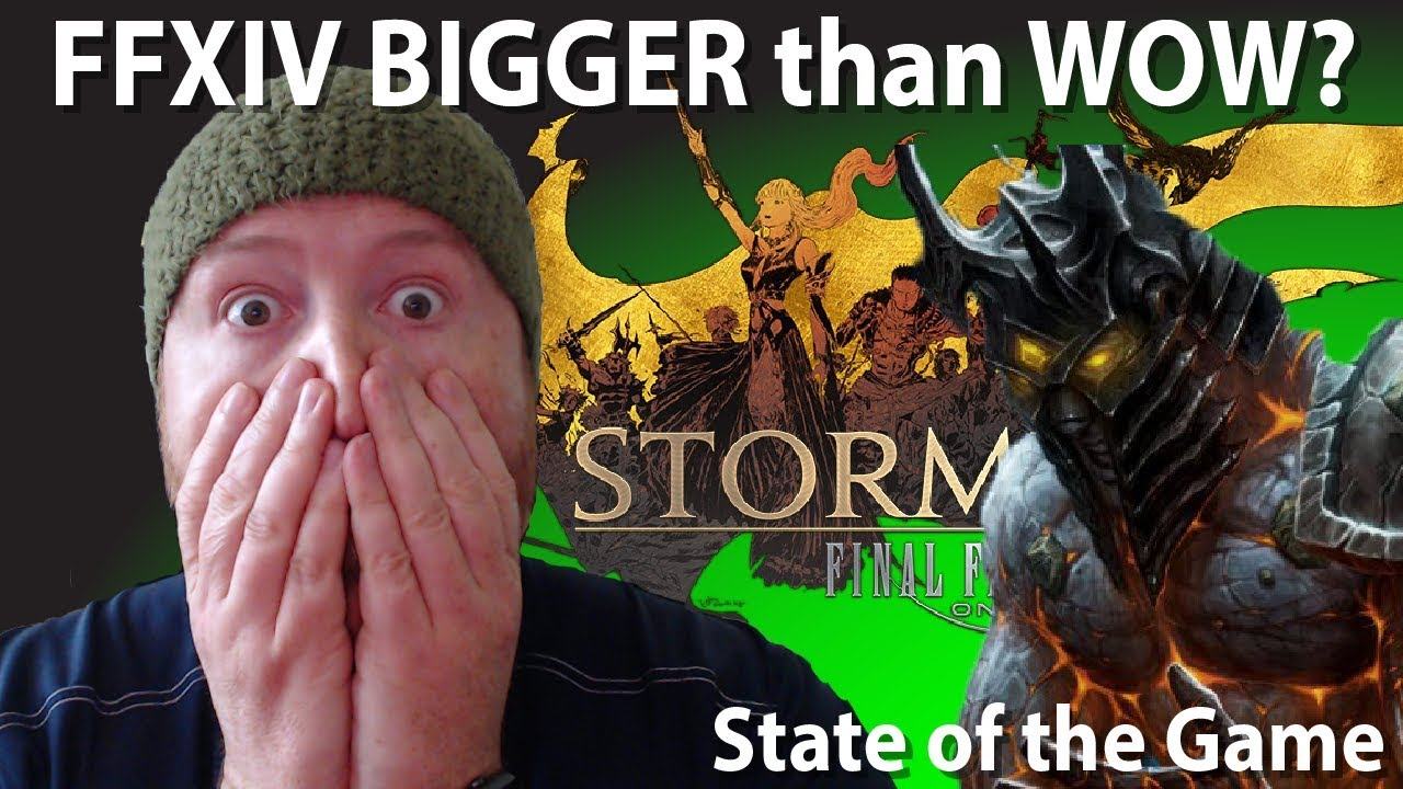 FFXIV Getting Bigger than WOW? Sub Numbers Vs Players and more Yoshi-P  Interview [State of the Game]