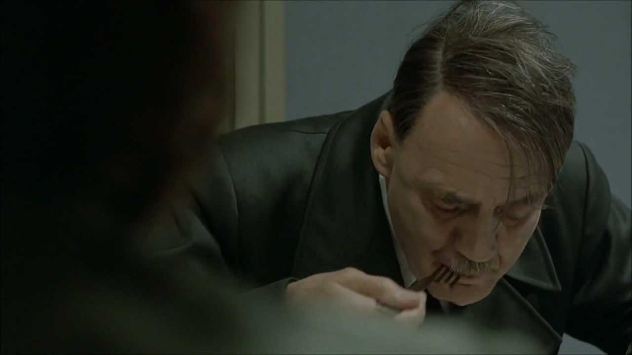 Hitler is informed he's eaten horsemeat