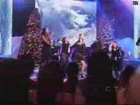 Clay Aiken - Christmas Medley (with Kimberley, Ruben Etc)
