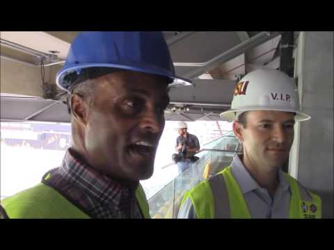 DevilsDigest TV: Media Tour of Renovated West and North sides of Sun Devil Stadium
