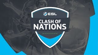 ESL Clash of Nation 2019 - Ngày 1 - Garena Liên Quân Mobile