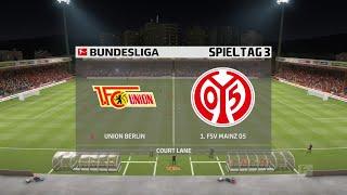 1. fc union berlin vs. 1.fsv mainz 05 [3.spieltag] 2.10.2020 [fifa 20]