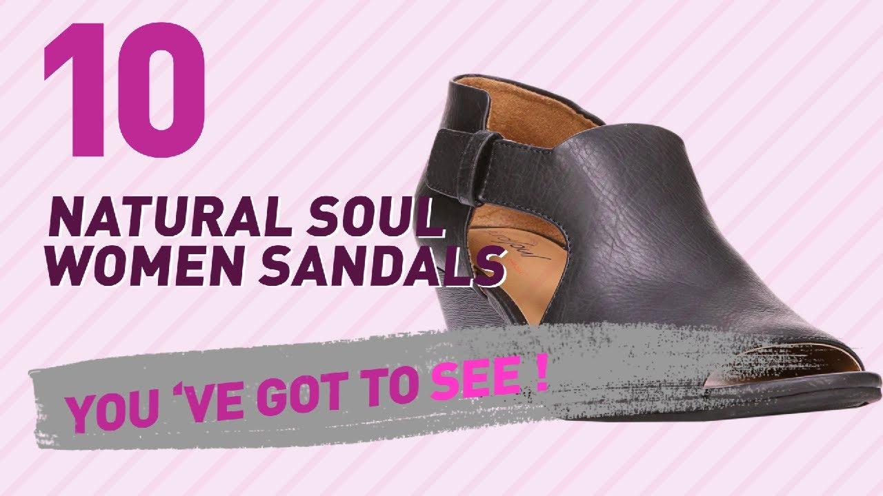 ddc2132a5a7 Natural Soul Women Sandals    New   Popular 2017 - YouTube