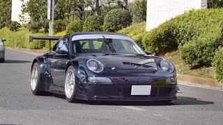 【大黒PA】スーパーカー加速サウンド/Supercars sound in Japan. GT3RSRturbo, LP760Aventador, F12, SRTviper, and more