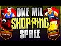 NBA Live Mobile 1 MILLION Coin Shopping SPREE! First On YOUTUBE!!!!!!!