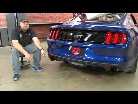2015 2017 mustang gt ford performance by borla touring cat back exhaust installation