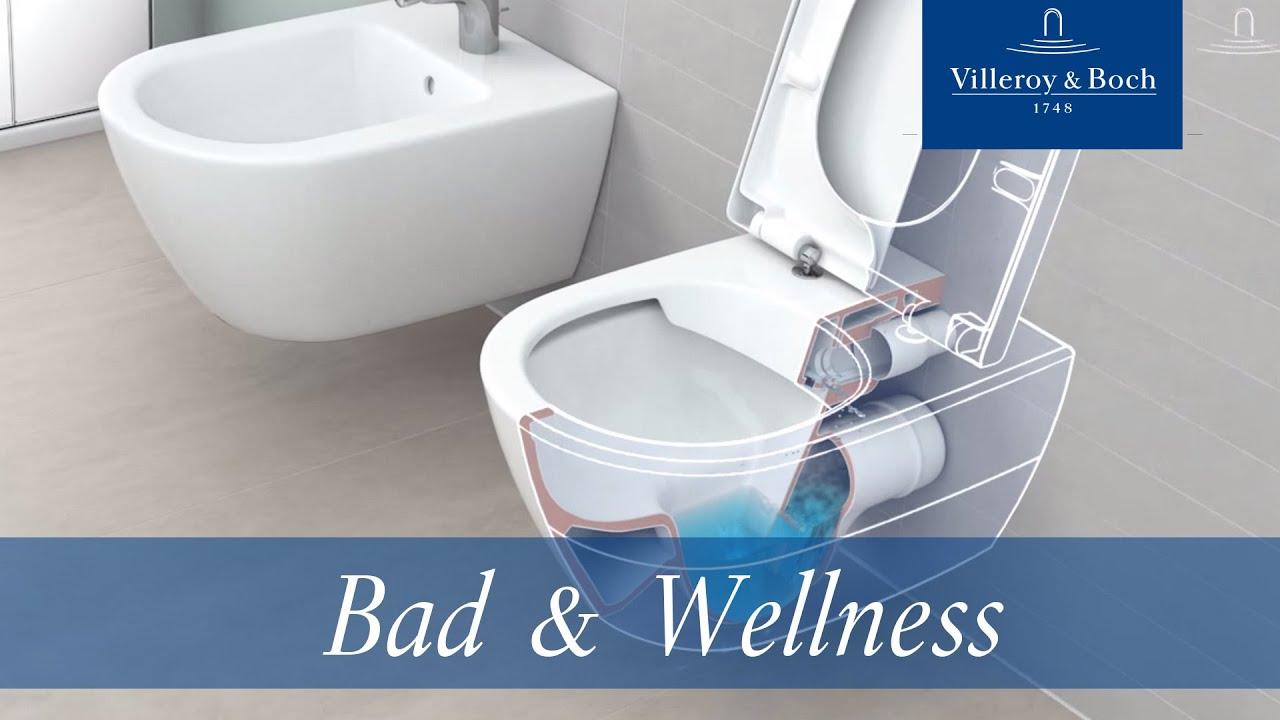 Großartig DirectFlush - Spülrandloses WC | Villeroy & Boch - YouTube AW68