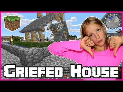 Someone Griefed My House / Minecraft
